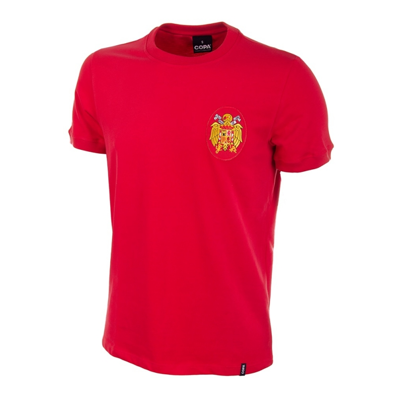 Spain Retro Football Shirt 1978
