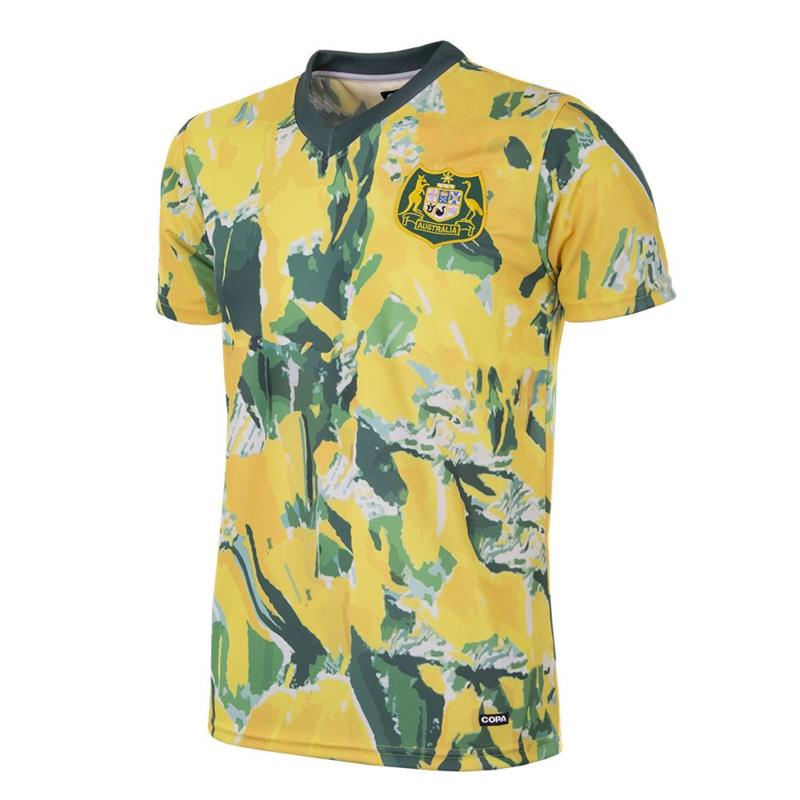 Australië 1990-93 Retro Voetbalshirt