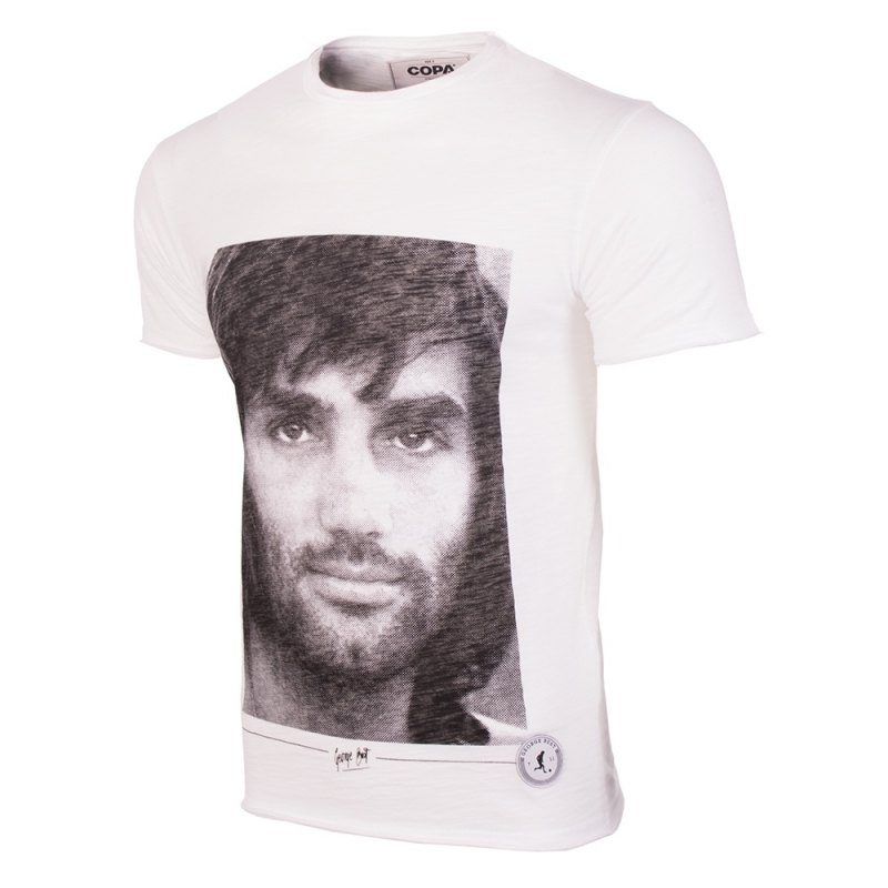 George Best Portret T-shirt
