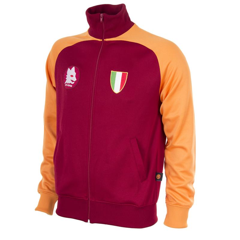 AS Roma Retro Football Jacket 1983