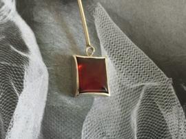 Zilveren oorbellen hessoniet