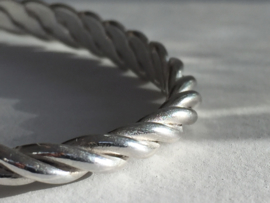 Stoere armband zilver