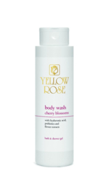 Yellow Rose - Body Wash Cherry Blossoms