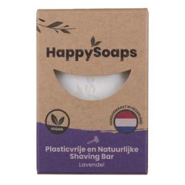 HappySoaps - Shaving Bar lavendel