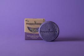 HappySoaps - Purple Rain Shampoo Bar / roos, normaal en zilvershampoo