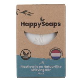 HappySoaps - Shaving Bar Munt