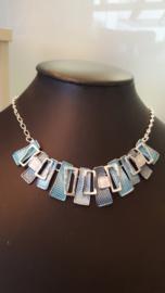 Toenga - Zilver / blauw nr. 150566