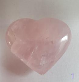 Rozenkwarts hart - nr. 1