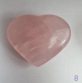 Rozenkwarts hart - nr. 8