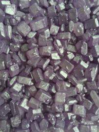 Lilac pearlized rocks
