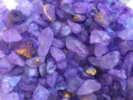 Purple rocks