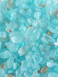 Light blue rocks