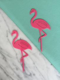 Twin flamingo's