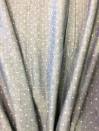 Donker blauw Jeanskatoen met glittertje 2205/008 per 25cm