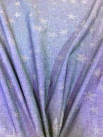 Katoen Jeanslook Stars NB 2204/008 per 25cm