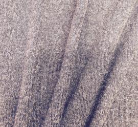Gebreide stof donker Taupe 9451-054