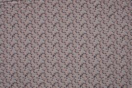 JERSEY BEDRUKT MET KLEINE BLOEMEN 11168/011 /25cm