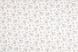 BUBBLE CHIFFON PRINT FLOWERS 11446/050 / 25cm
