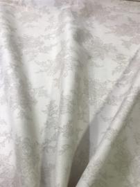 NB 04261/052 Gebroken wit bloem per 25cm