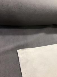 Fleece double Grijs/Beige 9444-054