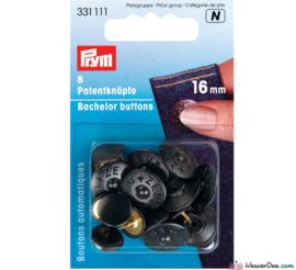 Prym 4 vrijgezellen knopen 16mm 331111
