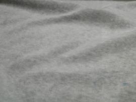 Nicky Velour gemeleert grijs 3081/063 per 25cm