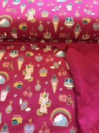 By Poppy  Design Candy Dream glitter sweat 06530.006 per 25 cm