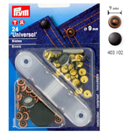 Prym Siernieten 9mm copper 403102