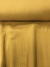 Hydrofiel Katoen Oker geel uni 3001/034 per 25cm