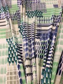 Tricot fantasy Blauw-groen 2278/008 per 25cm