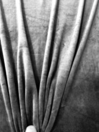 Nicky Velours Jeans blauw 3081/008 per 25 cm
