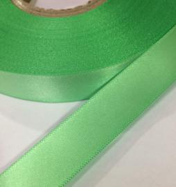 Satijn lint Groen 15mm