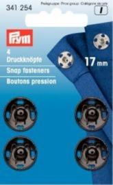 Prym Aannaaidrukknopen 17mm 341254
