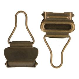 Tuinbroek sluiting 25mm oud goud/2