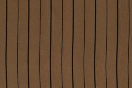CREPE DE LUXE PRINT STRIPE 12426/053 per 25 cm