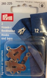 Prym 2 broek of rokhaken 12mm 265225