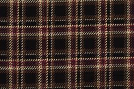 CREPE DE LUXE PRINT CHECKS 12427/069 per 25cm