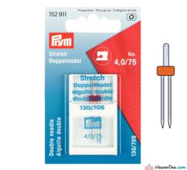 Prym Stretch Tweelingnaald 4.0/75 130/705