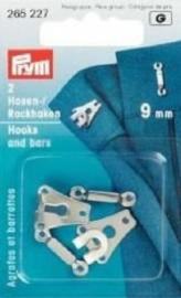 Prym broekhaken 2st 9mm 265227
