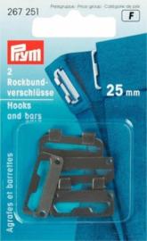 Prym Rokhaken 20mm zwart 267250