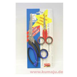 Kretzer Stofschaar + gratis borduurschaar 72020/80213