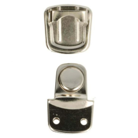 Tassluiting  klein zilver