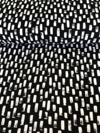 By Poppy  Design Black and White 06521.011 per 25 cm