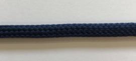 Koord voor bv Hoodies plat 8mm blauw