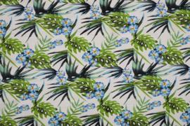VI/NY/SP BENGALINE PRINT FLOWERS 11456/050 /25cm