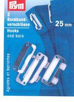Prym 2 Broek of rokhaken 25mm 267261