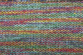 JACQUARD MET VERSCHILLENDE KLEUREN 10425/004 per 25cm