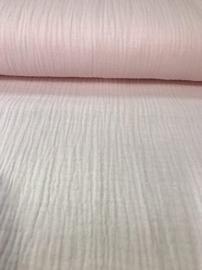 NB 03001/011 Hydrofiel Babykatoen rose per 25cm