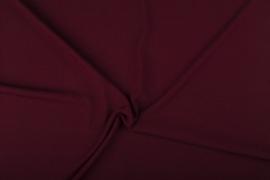 Bi-stretch crepe D Bordeaux 2773/019 /25cm