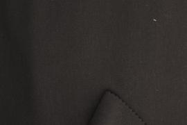 CREPE PLAIN DYED Zwart 10410/069 per 25cm